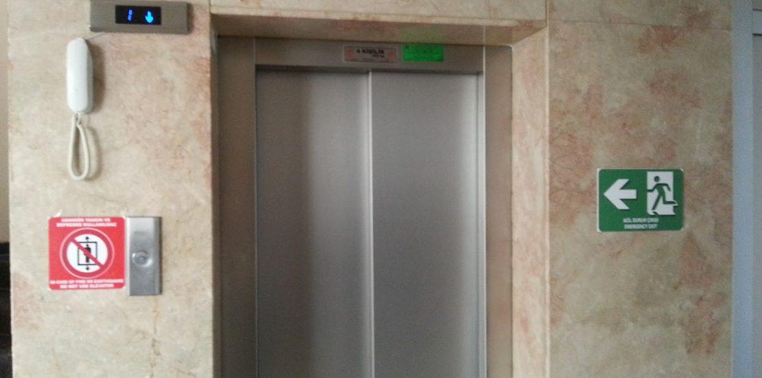 asansör acil alarm imaj