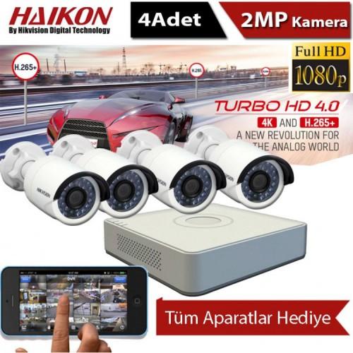 4 kameralı Haıkon